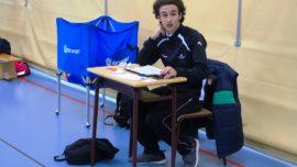 """Yago Benito, árbitro de voleibol: """"Arbitrar en ECM es una manera de hacer un servicio hacia los demás"""""""