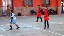 Virgen de Atocha y Claret se aproximan a la fase final de fútbol sala