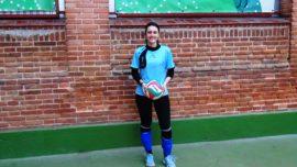 """Sara Fresno, jugadora de Santa Ana y san Rafael: """"El secreto está en la confianza en el equipo"""""""