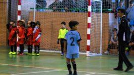 Concluye la primera fase para los prebenjamines de fútbol sala