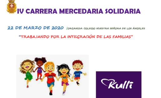 La IV carrera mercedaria solidaria será el 22 de marzo