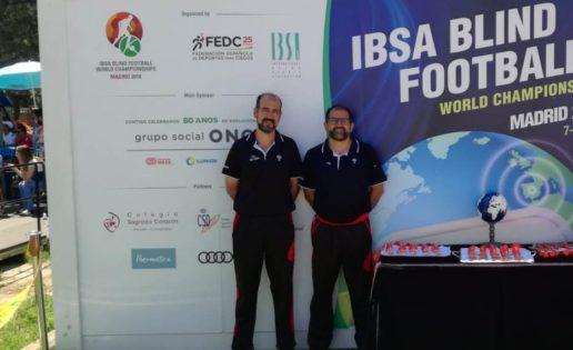 Reviviendo la experiencia del mundial de fútbol para ciegos