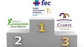 No hay quien pare a Vedruna Mirasierra, Jesús Maestro y Claret en los últimos diez años de fútbol sala de los Juegos ECM