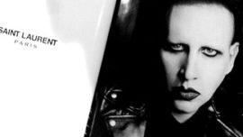 Marylin Manson imagen de Saint Laurent