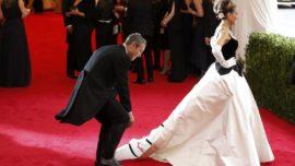 Celebrities en apuros sobre la «red carpet»