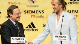 David Beckham con un filtro Valencia