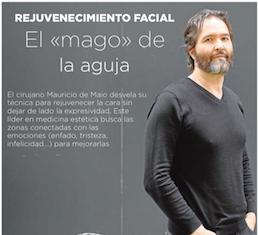 Mauricio de Maio cuenta en exclusiva para abc su técnica pararejuvenecer el rostro sin perder su expresividad