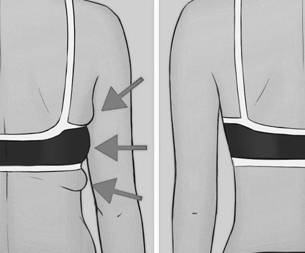 cómo perder grasa y grasa de sujetador