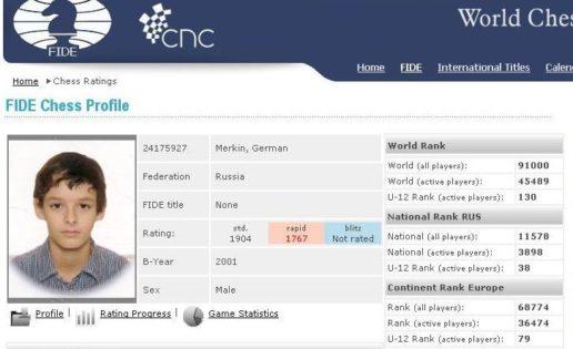 Un chaval de 12 años, expulsado de un torneo en Bulgaria por tramposo