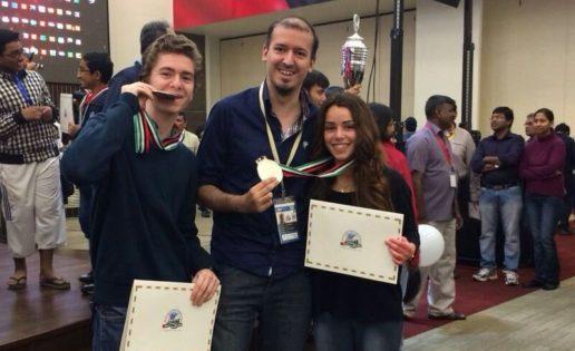 Irene Nicolás y David Antón, subcampeones del mundo de ajedrez