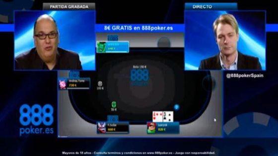 888 estrena programa de póker en el canal Nitro