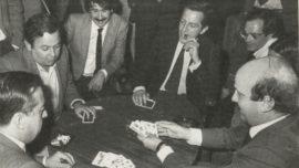 Adolfo Suárez, jugador de mus