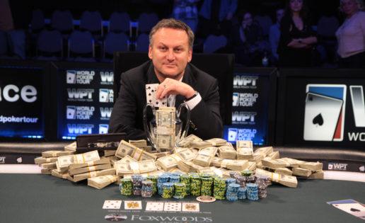 Las lágrimas del campeón del World Poker Tour condenado a cinco años