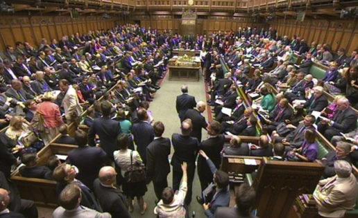 Desde el Parlamento británico se visitaron sitios de juego 4 millones de veces