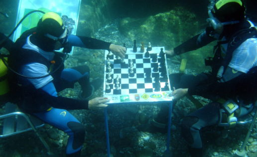 II Torneo Europeo de Ajedrez Submarino en Motril