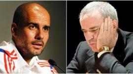 Kasparov y Guardiola, historia de una amistad