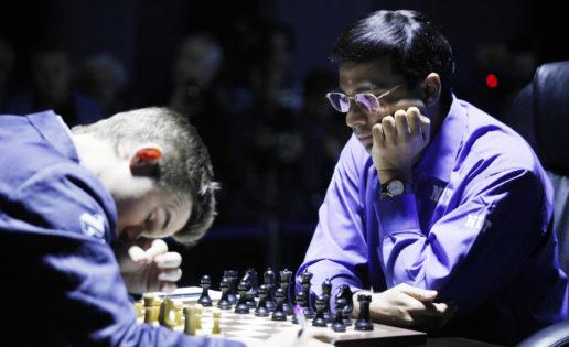 Anand perdona la vida a un Carlsen «muy afortunado»