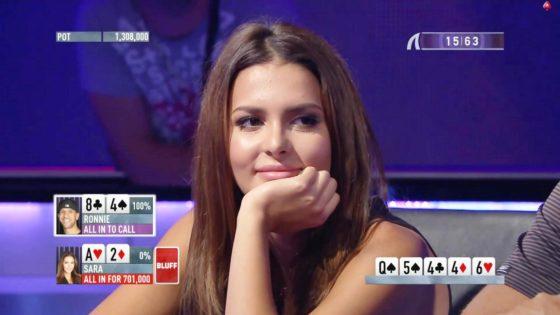 El increíble farol de Miss Finlandia a un profesional del póker