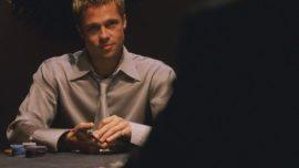 Brad Pitt pierde 22.000 euros en una mano de póker