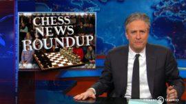 Jon Stewart y la parodia que ofende a los ajedrecistas