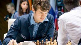 Carlsen acaba con la maldición de la tercera ronda