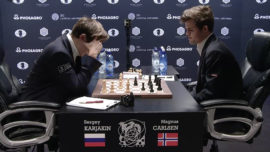 Karjakin deja herido a Carlsen, pero no lo remata