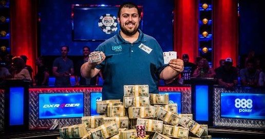 Once españoles premiados en las WSOP de Scott Blumstein