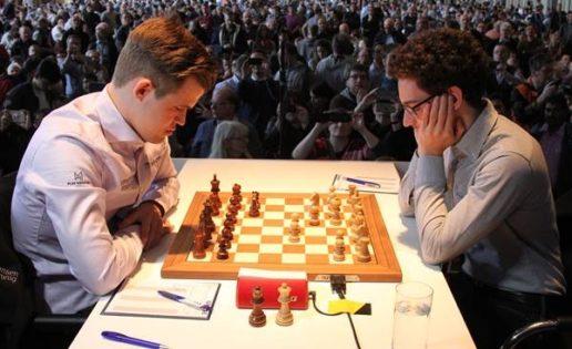 Caruana y Carlsen calientan el Mundial de Ajedrez
