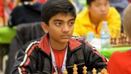 Proeza agridulce para el indio Gukesh, gran maestro a los 12 años