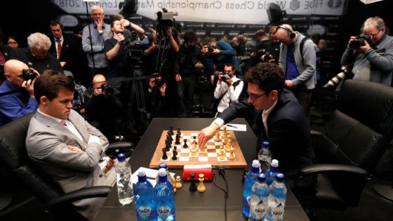 Carlsen-Caruana: guerra mundial de nervios