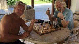 Richard Branson: amor al ajedrez, intolerancia y postureo