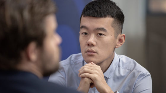 Ding Liren, el rival perfecto de Carlsen
