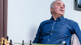 Kasparov sufre con el ajedrez de Fischer