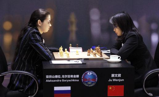 Ju Wenjun-Goryachkina: el Mundial femenino de Ajedrez se pone interesante