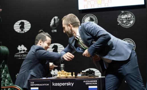 El ajedrez, un espectáculo de lujo