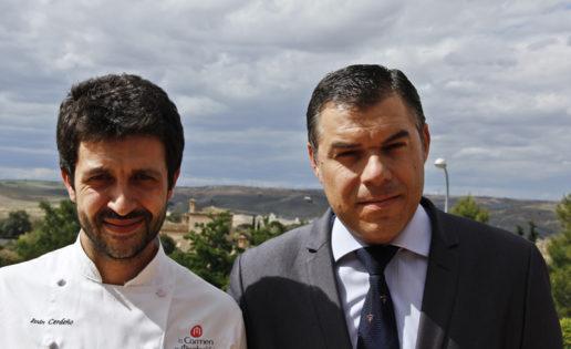 Iván Cerdeño, el relevo en la cocina de Castilla-La Mancha