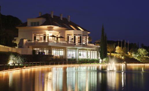 El Lago y otras comidas en Marbella