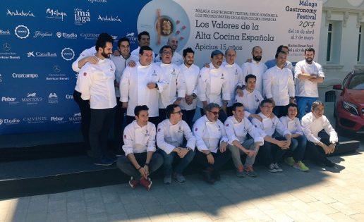 Málaga, Apicius, un festival y 30 cocineros
