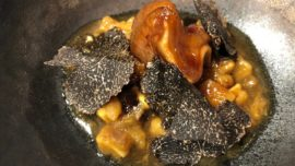 Dos menús de trufa negra: Baluarte y Cebo