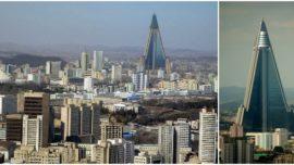 Corea del Norte: el hotel vacío más alto del mundo… seguirá vacío