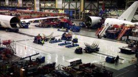 Un vídeo enseña las tripas del ensamblaje de un Boeing 787 Dreamliner