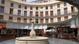 Una parada en la única y extraordinaria Plaza Redonda de Valencia