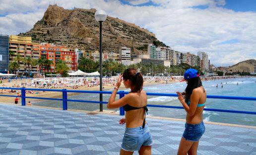 Madrid ya tiene playa
