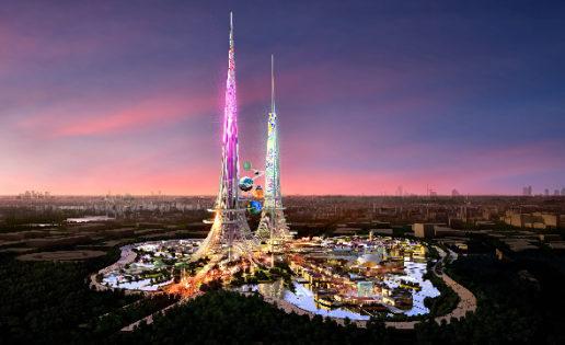 """Un """"hotel de insectos"""" en el edificio más alto del mundo"""