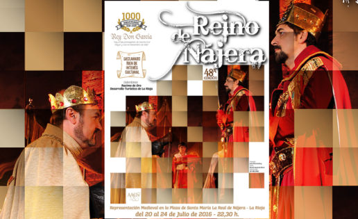 El Reino de Nájera, espectáculo medieval que cumple 48 años