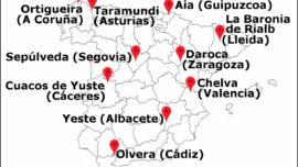 Uno de estos diez pueblos será la Capital del Turismo Rural 2021