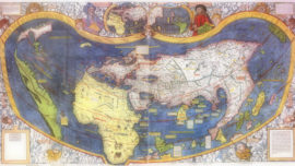 El bautizo de América y su «certificado de nacimiento»