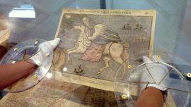Dibujantes de mapas  simbólicos, en laboratorio.
