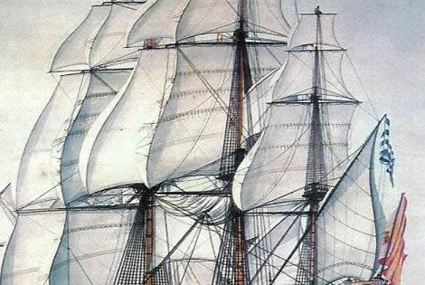 El día del gran golpe de Luis de Córdova a la Armada inglesa