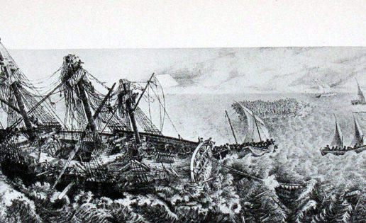 La maldición de la Medusa. El naufragio más terrible de Francia